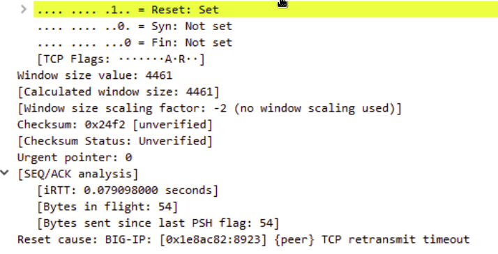 tcp rst after get / http - Ask Wireshark